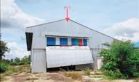 อาคารโรงงานหลุดจำนอง ธ.ธนาคารกสิกรไทย อำนาจเจริญ เสนางคนิคม ไร่สีสุก